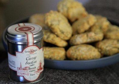 Cookies au curry