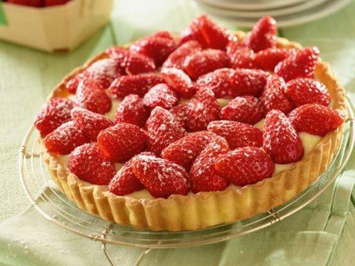 L'incontournable tarte aux fraises